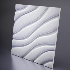 Гипсовая 3D панель VELVET 600x600x25 мм