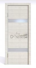 ШИ дверь DO-602 Ива светлая/Снег