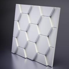 Гипсовая 3D панель BEE 600x600x33 мм