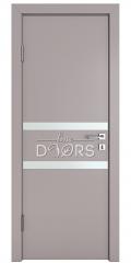 ШИ дверь DO-613 Серый бархат/Снег