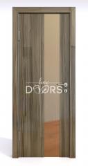 ШИ дверь DO-604 Сосна глянец/зеркало Бронза