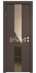 ШИ дверь DO-610 Бронза/зеркало Бронза