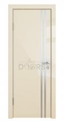 ШИ дверь DG-606 Ваниль глянец