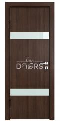 ШИ дверь DO-602 Мокко/стекло Белое