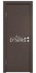 ШИ дверь DG-600 Бронза