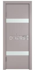 ШИ дверь DO-602 Серый бархат/Снег