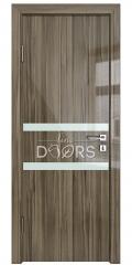 Дверь межкомнатная DO-513 Сосна глянец/стекло Белое