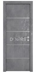 Дверь межкомнатная DG-505 Бетон темный