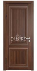 Дверь межкомнатная DG-PG1 Орех тисненый