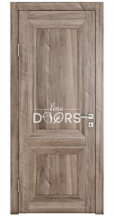 Дверь межкомнатная DG-PG1 Орех седой светлый