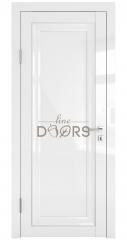Дверь межкомнатная DG-PG5 Белый глянец