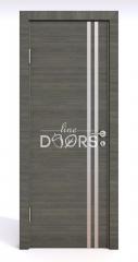 Дверь межкомнатная DG-506 Ольха темная