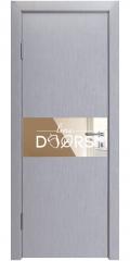 ШИ дверь DO-601 Металлик/зеркало Бронза