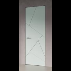 Скрытая дверь в эмали Р18