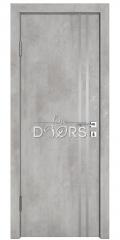 ШИ дверь DG-606 Бетон светлый