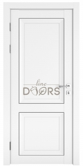 Дверь межкомнатная DG-DEKANTO Белый бархат