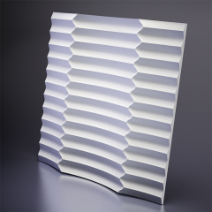 Гипсовая 3D панель RUFFLE 600x600x47 мм