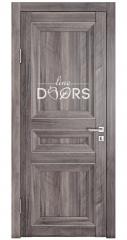 Дверь межкомнатная DG-PG3 Орех седой темный