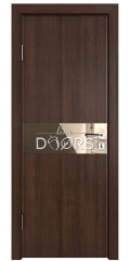 ШИ дверь DO-609 Мокко/зеркало Бронза