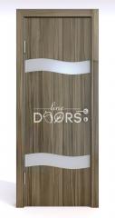 ШИ дверь DO-603 Сосна глянец/Снег