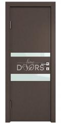 ШИ дверь DO-612 Бронза/стекло Белое