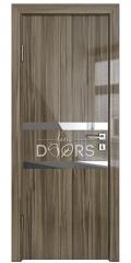 Дверь межкомнатная DO-513 Сосна глянец/Зеркало