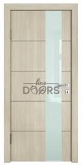 Дверь межкомнатная TL-DO-504 Клен/стекло Белое