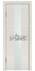 Дверь межкомнатная DO-510 Ива светлая/Снег