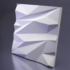 Гипсовая 3D панель STELLS 1 Platinum материал матовый 600x600 мм
