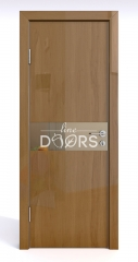 ШИ дверь DO-609 Анегри темный/зеркало Бронза