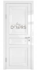 Дверь межкомнатная DG-PG3 Белый глянец