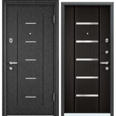 Дверь TOREX SUPER OMEGA 08 Черный шелк / Венге