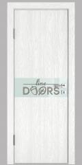 ШИ дверь DO-609 Белый глубокий/стекло Белое
