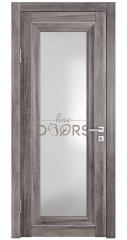 Дверь межкомнатная DO-PG6 Орех седой темный/Ромб