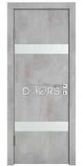 ШИ дверь DO-602 Бетон светлый/Снег