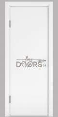 Дверь межкомнатная DG-500 Белый бархат