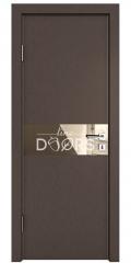 Дверь межкомнатная DO-509 Бронза/зеркало Бронза