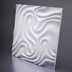 Гипсовая 3D панель FOGGY 1 650x650x24 мм