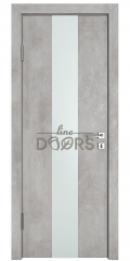 Дверь межкомнатная DO-510 Бетон светлый/Снег