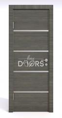 Дверь межкомнатная DG-505 Ольха темная