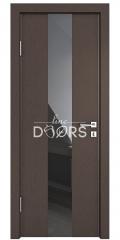 Дверь межкомнатная DO-510 Бронза/стекло Черное