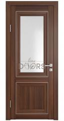 Дверь межкомнатная DO-PG2 Орех тисненый/Ромб