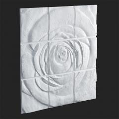 Гипсовое панно Rose 1800x1800x47 мм