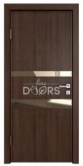 ШИ дверь DO-612 Мокко/зеркало Бронза