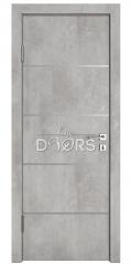 Дверь межкомнатная DG-505 Бетон светлый