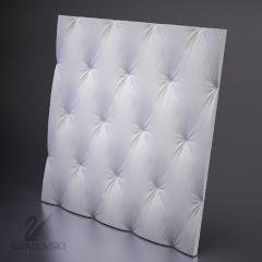 Гипсовая 3D панель ARISTOCRATE 600x600x24 мм