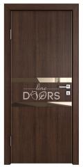 ШИ дверь DO-613 Мокко/зеркало Бронза