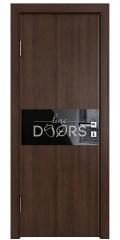Дверь межкомнатная DO-501 Мокко/стекло Черное