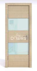 ШИ дверь DO-608 Неаполь/стекло Белое