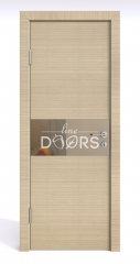 ШИ дверь DO-601 Неаполь/зеркало Бронза